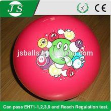 Low price design 4 inch hollow plastic balls