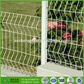 enduit de pvc soudés clôture de jardin pliante fleur décorative