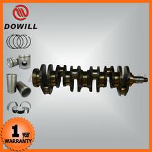 Professional forged steel engine crankshaft 6D31fit for MITSUBISHI
