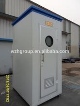 prefab mobile bathroom & toilet trailer transported