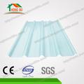 Luz transparente claro telhado ondulado folhas de plástico