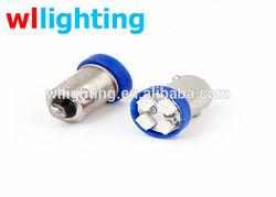 4SMD LED BA9S H6W T4W 1210/3528 Car License Plate Light Width Lamp Bulb