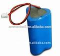 Pequena bateria recarregável de iões de lítio bateria 9.6v 3ah