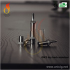 2014 Newest arrival ecig UNICIG GW2 wax and dry herb vaporizer pen