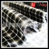 Wholesale 100 cotton black white stock flannel mens shirts fabric
