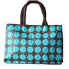 2014 fashionable Korean fashion ladies handbag , two zippers thickened polyester handbag and luch bag