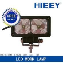 "2*10W HID/ LED Work Light 10-30V Auto led work lamp 4.5""x2.3""Off-Road Truck SUV ATV Spot lamp"