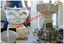 Liquid White Concrete Ornaments Mold Making Silicone