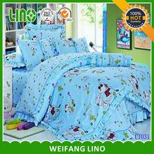 kids cotton bedding fabric bed set/quilt cover/bed sheet sets children