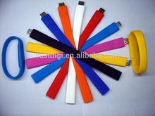 Silicone Bracelet USB,Permanent friendship gift wristband USB