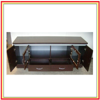 fashional design Kd Tv Stands Cabinet with 4 doors and 2 drawers