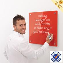Office decorative glass notice board