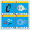 carbon filled ptfe washer, color flat washers, graphite bronze filled ptfe gaskets