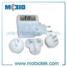 Travel Adapter Plug with LED and EU, UK, US, AU Plugs, Universal Travel Adapter 2014