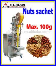Automatic peanut/pistachio/sunflower seeds/almond/cashew nut back/stick/pillow bag packing machine