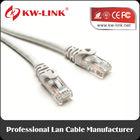 Bare Copper UTP RJ45 Connectors 8p8c CAT6 Ethernet LAN Network Patch Cord Cable