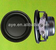 40mm 4ohm 4W singing table speaker