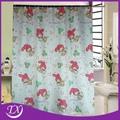 impresión de los animales de poliéster ducha cuarto de baño de tela de la cortina
