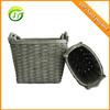 cheap woven basket straw storage basket