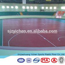 Fire retardant basketball floor mat