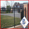 2014 new product Wholesale 3 Rail Open Top With Spears wrought iron fence ISO9001 manufacturer made in china factory