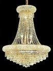Modern gold crystal led decoration light