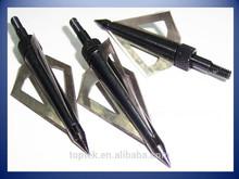 three blades tips, hunting carbon arrow shaft, arrow tips, arrow feather