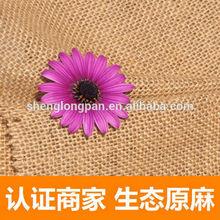 100% Jute fiber Natural jute fabric roll