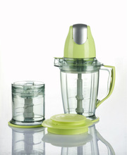 400W Food Chopper with 1.5L Cup and 0.5L Cup Food Processor FC-717