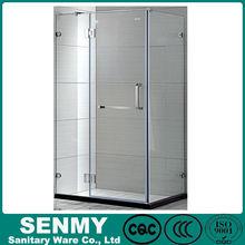 luxury bathrooms hinge sliding pivot 2 or 3 doors shower toilet cubicles simple glass shower cubicle plastic corner