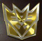 Badge Sticker Chrome Badge Emblem 3D logo