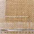 100% fios de juta para o tapete