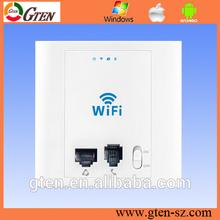 Inwall POE supply wireless ap