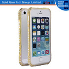 2014 newest for iphone 6 luxury diamond metal bumper
