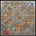 muster mosaik rostigen steinpflaster