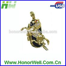 Twister Golden Diamond Horse Usb Flash Drive Flash Pen Flash