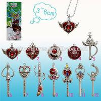 Sailor Moon Necklace, Diamond pendant necklace (ASMQC0735)