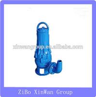WQ series electric submersible sewage pump 5hp water pump sewage vacuum pumps