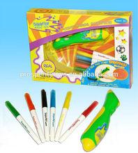B/O Sprayart Magic Pen Box with 6 Washable Markers