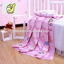 Novos 2014 produtos do bebê 100% algodão bebê crianças cobertor Swaddle toalha de banho com imagem dos desenhos animados - cor de rosa