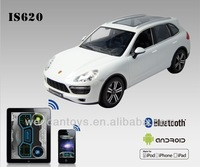 2014 cool 1 14 scale iOS Android Bluetooth rc toy remote control car porsche cayenne white brand car