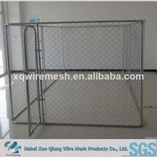 4*2.5*2m Galvanized chain link dog cage