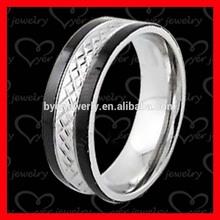 OEM word engraved stainless steel rings jewelry