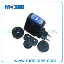 Universal Travel Adapter Plug with LED and EU, UK, US, AU Plugs, Universal Travel Adapter 2014