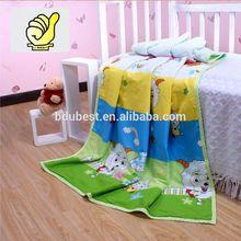 Novos 2014 produtos do bebê 100% algodão bebê crianças cobertor Swaddle toalha de banho com imagem dos desenhos animados - cor azul
