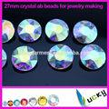 venta al por mayor 27mm bling cristal de piedra de cristal ab rivolis para diamantes de imitación de la joyería de toma de suministros