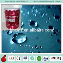 Two component waterproof water base liquid construction of asphalt paint