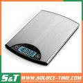 2014 s&t buena calidad balanza de cocina electrónica escala de alimentos 5kg/1g