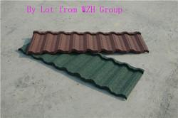 kerala sand coated metal roof tile as building materials