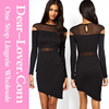 Ladies China supplier new arrival high fashion Dress